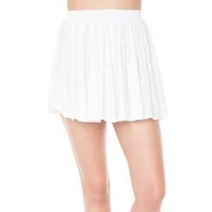 Brandy Melville White Luma Skirt