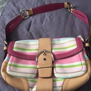 Coach MultiStripe Handbag