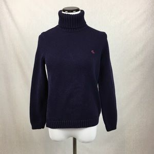 Ralph Lauren turtle neck sweater blue