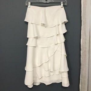 BCBGMaxAzria White Mini Dress