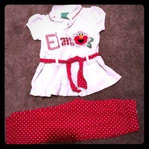 Other - Elmo Matching Set 2T