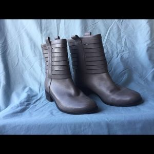 Gray Cole Haan boots