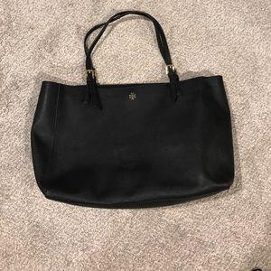 Tory brunch black tote bag