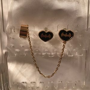 Jewelry - Batman earrings