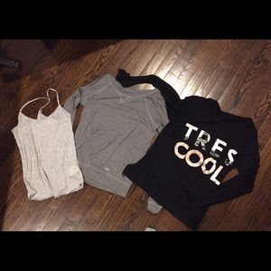 Bundle - sweatshirts and cami