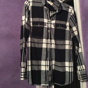 J Crew flannel button down