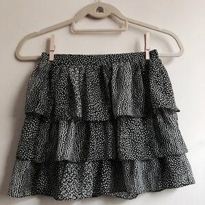 H&M Polkadot mini skirt