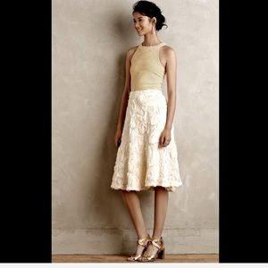 HD in Paris Appliquéd & Embroidered Swirls Skirt 8