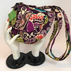 Vera Bradley Plum Crazy Crossbody Bag