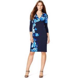 ✨Ralph Lauren Floral Wrap Jersey Dress✨