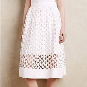 Floreat Eclipsed Eyelet Skirt
