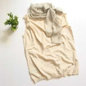 3 for $15 🌟 mango • sleeveless top with scarf