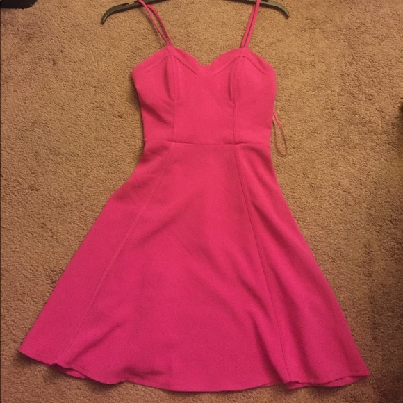 2c0c74e5d8d Candies pink dress new with tags