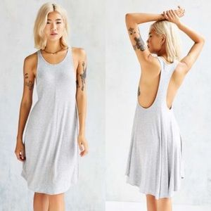 "UO Silence + Noise ""Poe Dropped Armhole"" Dress"