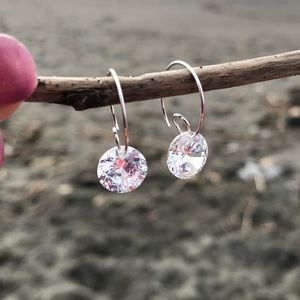 Jewelry - Handcrafted earrings with Swarovski crystal #269