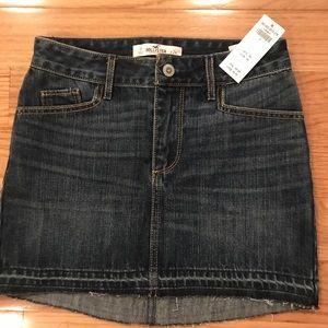 NWT Hollister denim skirt size 0
