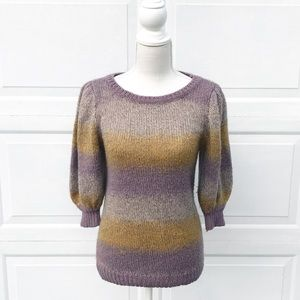 H&M rainbow sweater