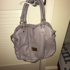 Marc by Marc jacobs classic leather satchel