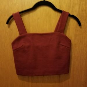 BNWT Red crop top from Urban Outfitters