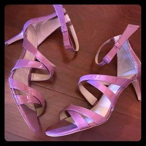 Eggplant Ann Taylor kitten heels