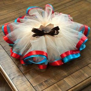 Other - Moana inspired tutu, sewn tutu made with ribbon