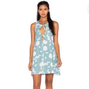 For Love & Lemons Sweet Jane Dress in Robin Blue