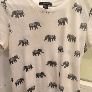 Elephant T-shirt from Forever 21