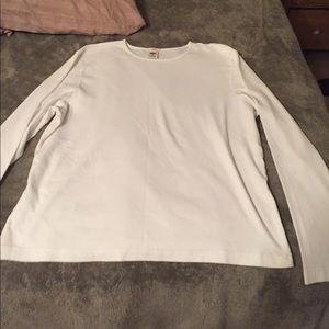 Cotton white t shirt