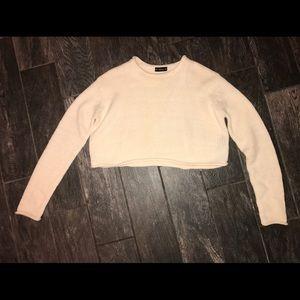 Zara cropped sweater size Medium
