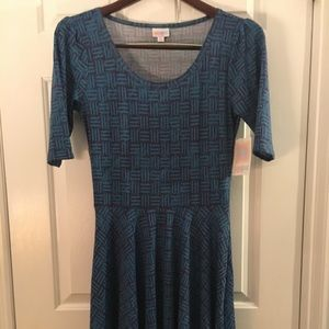 LuLaRoe Nicole Dress Size M Medium Skater Skirt