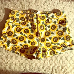 NWOT Sunflower shorts