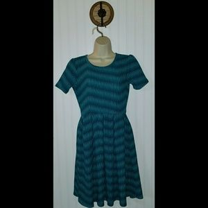LuLaRoe Amelia Dress ~ Size Small