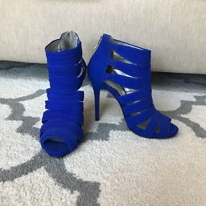 New BCBG royal blue heels