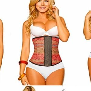 Design Print Waist Trainer Cincher Faja Girdle