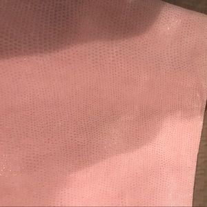 H&M Skirts - NWT pink leather skirt H&M sz 14