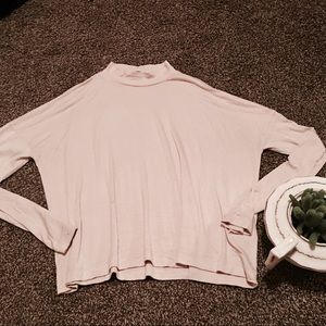 Forever21 long sleeve turtle-neck top