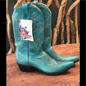 OLD GRINGO Turquoise Cowgirl Boots