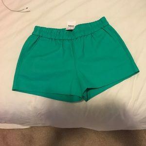 NWT J. Crew Linen elastic waist shirt