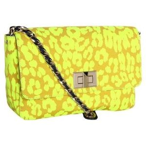 *RARE* Juicy Couture Neon Leopard Print Bag