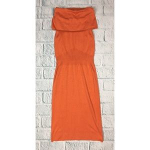 NWT The Limited Cowl Neck Orange Sweaterdress