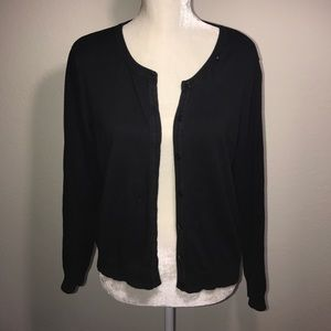 H&M Basic Black Cardigan