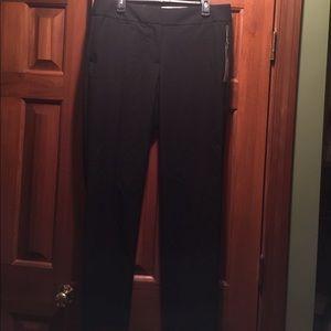 NWT LOFT women's size 12 Tall black dress pants