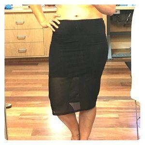 lululemon mesh skirt