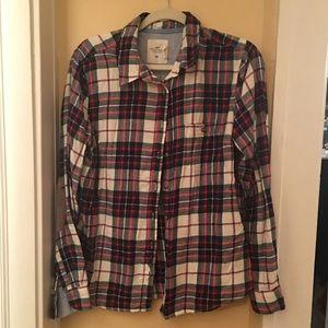 H&M LOGG button up shirt