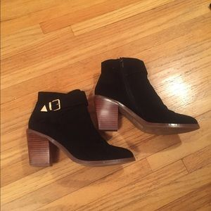 Black Forever 21 Ankle Booties