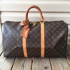 💯Authentic Louis Vuitton Keepall 50