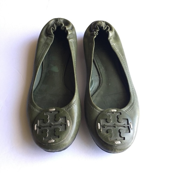 405d7b8060 Tory Burch Shoes | Flats In Olive Camo Green | Poshmark