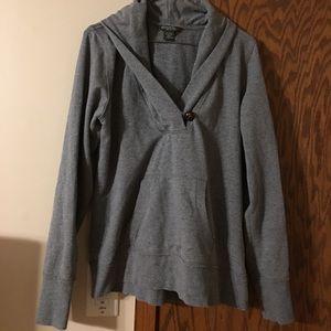 Eddie Bauer Cowl neck sweater