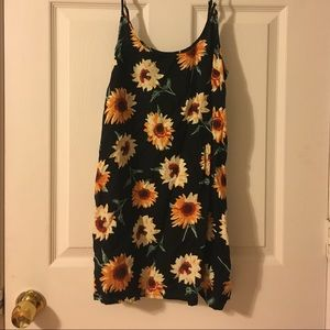 Urban outfitters sunflower dress