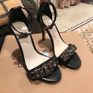 Jeweled heels